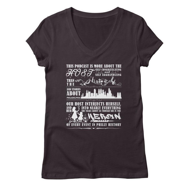 The Bad Review Women's Regular V-Neck by TwistedPhillyPodcast's Shop