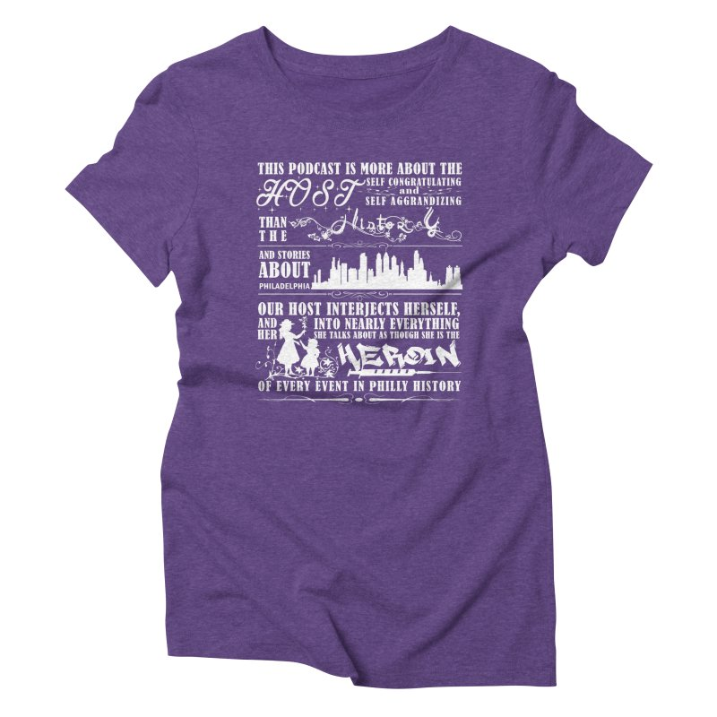The Bad Review Women's Triblend T-Shirt by TwistedPhillyPodcast's Shop