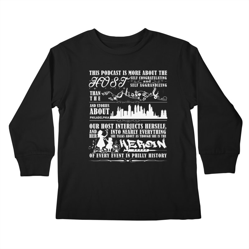 The Bad Review Kids Longsleeve T-Shirt by TwistedPhillyPodcast's Shop