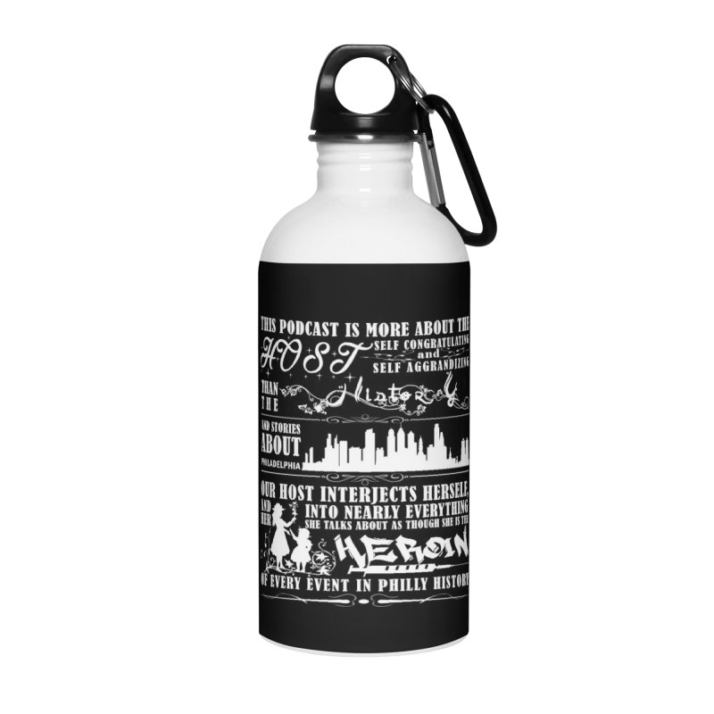 The Bad Review Accessories Water Bottle by TwistedPhillyPodcast's Shop