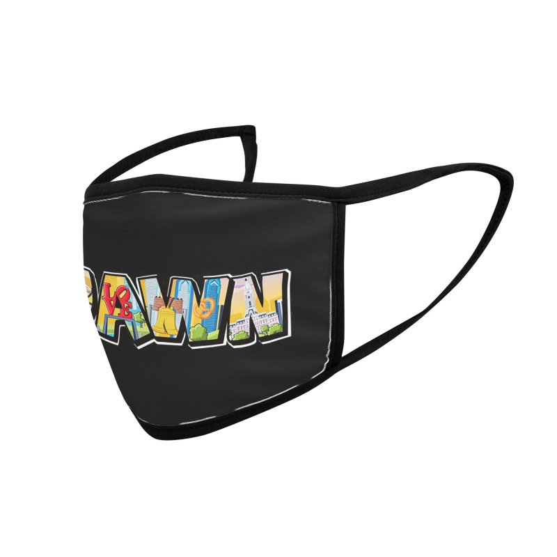 JAWN Accessories Face Mask by TwistedPhillyPodcast's Shop