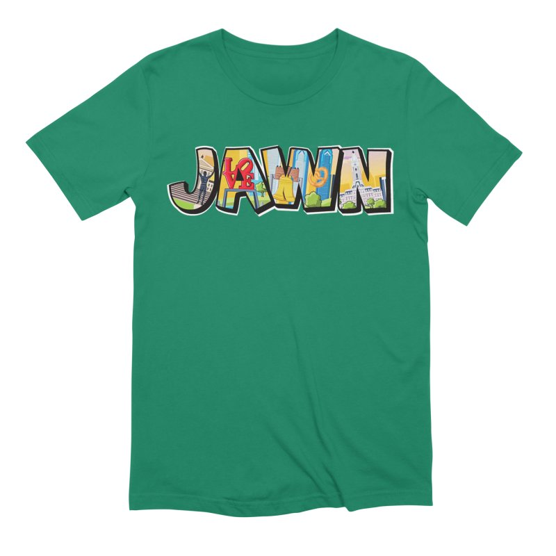 JAWN Men's Extra Soft T-Shirt by TwistedPhillyPodcast's Shop