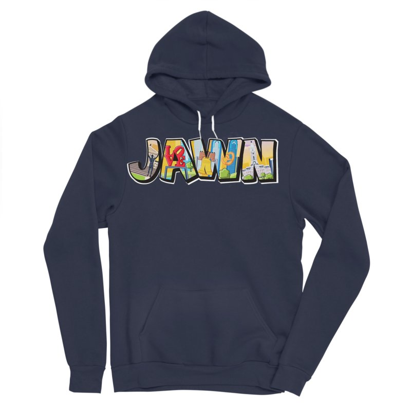 JAWN Men's Sponge Fleece Pullover Hoody by TwistedPhillyPodcast's Shop