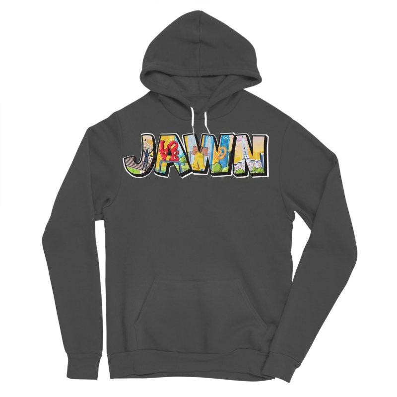 JAWN Men's Sponge Fleece Pullover Hoody by TwistedPhillyPodcast's Shop