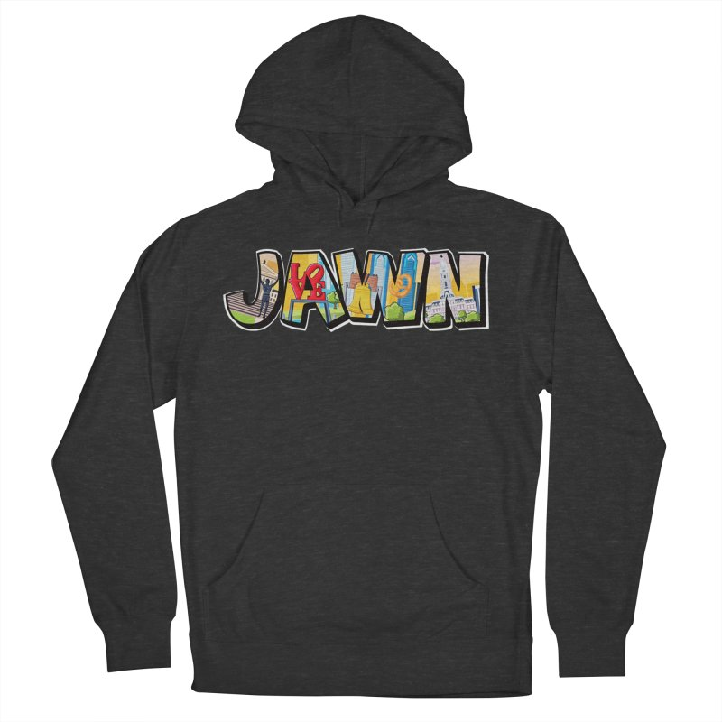 JAWN Men's French Terry Pullover Hoody by TwistedPhillyPodcast's Shop