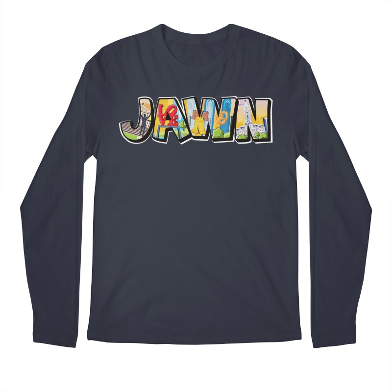JAWN Men's Regular Longsleeve T-Shirt by TwistedPhillyPodcast's Shop