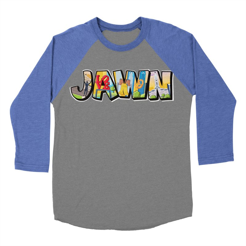 JAWN Men's Baseball Triblend Longsleeve T-Shirt by TwistedPhillyPodcast's Shop
