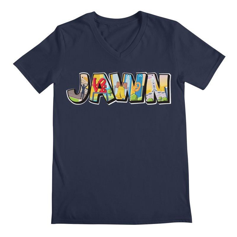 JAWN Men's Regular V-Neck by TwistedPhillyPodcast's Shop
