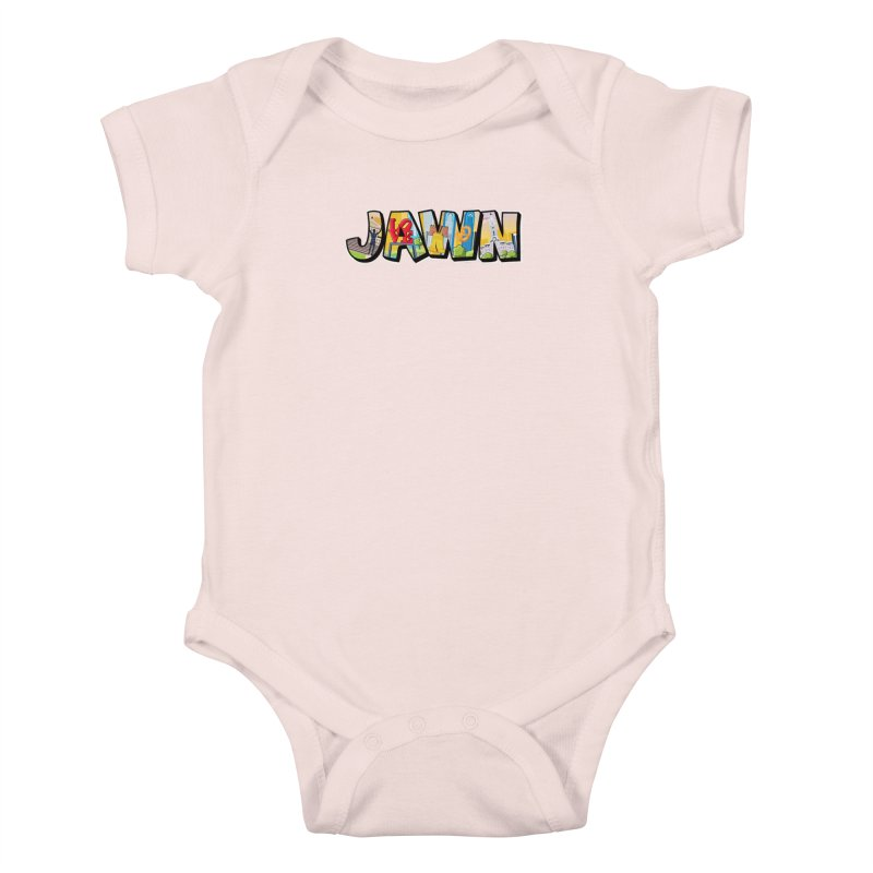 JAWN Kids Baby Bodysuit by TwistedPhillyPodcast's Shop