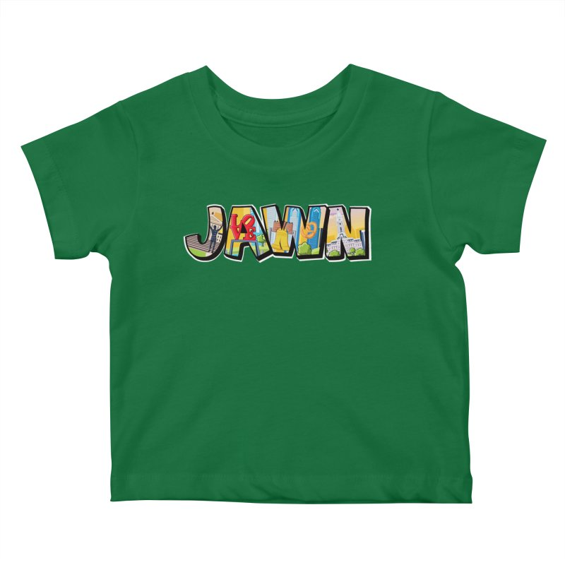 JAWN Kids Baby T-Shirt by TwistedPhillyPodcast's Shop