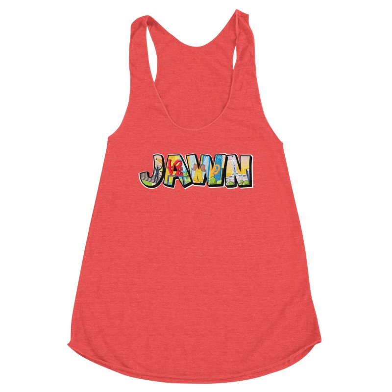 JAWN Women's Tank by TwistedPhillyPodcast's Shop