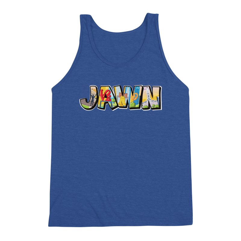 JAWN Men's Tank by TwistedPhillyPodcast's Shop
