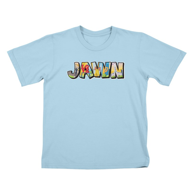 JAWN Kids T-Shirt by TwistedPhillyPodcast's Shop
