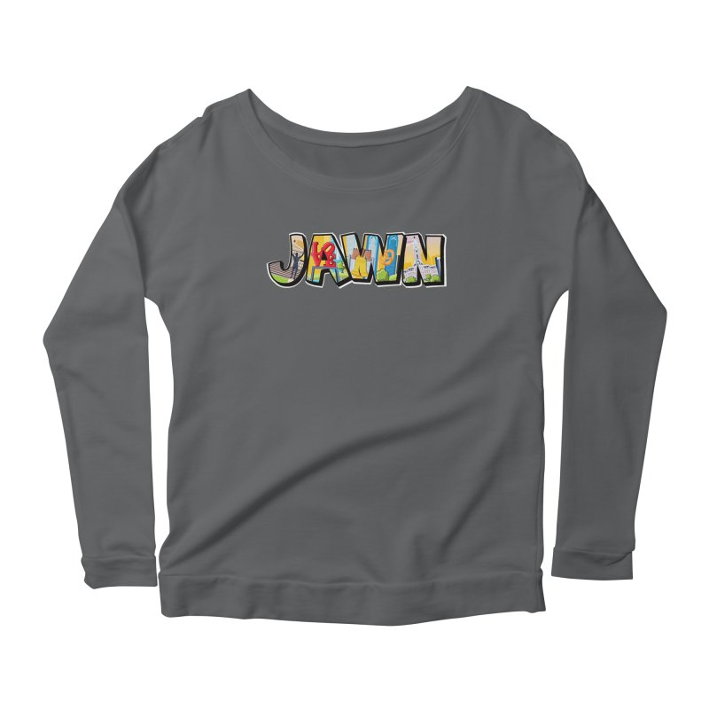 JAWN Women's Scoop Neck Longsleeve T-Shirt by TwistedPhillyPodcast's Shop