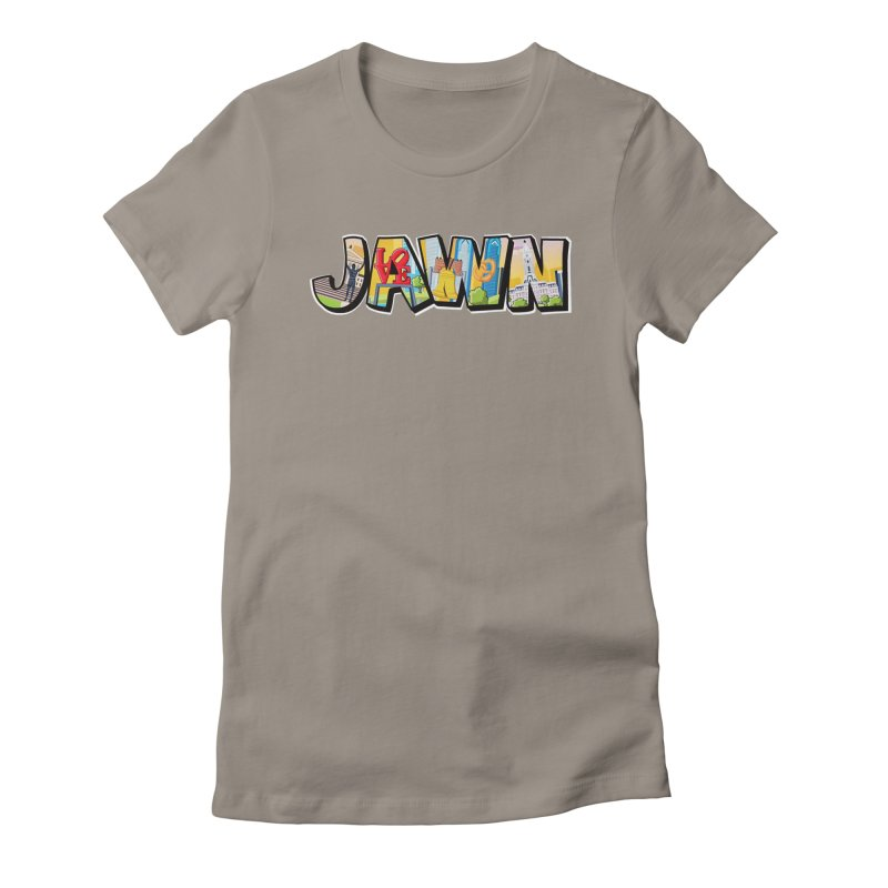 JAWN Women's Fitted T-Shirt by TwistedPhillyPodcast's Shop