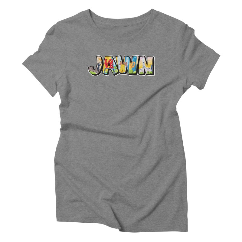 JAWN Women's Triblend T-Shirt by TwistedPhillyPodcast's Shop