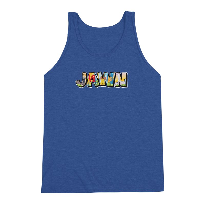 JAWN Men's Triblend Tank by TwistedPhillyPodcast's Shop