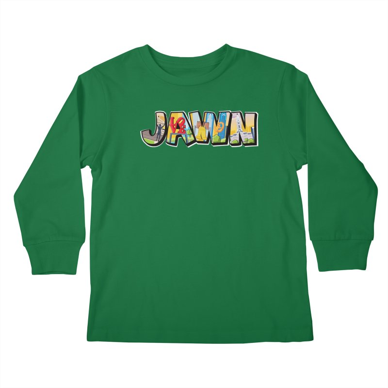 JAWN Kids Longsleeve T-Shirt by TwistedPhillyPodcast's Shop