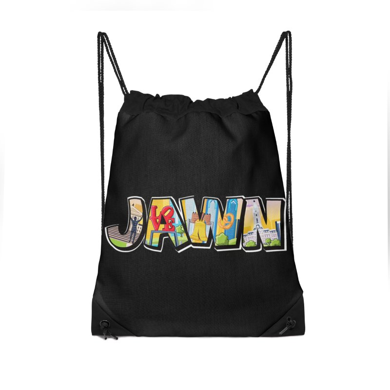 JAWN Accessories Drawstring Bag Bag by TwistedPhillyPodcast's Shop