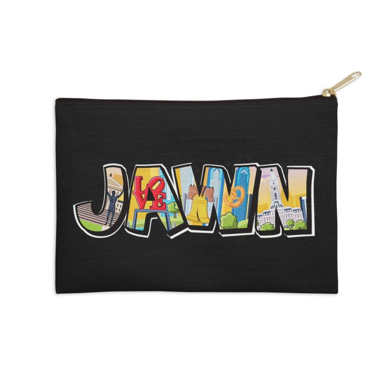 JAWN Accessories Zip Pouch by TwistedPhillyPodcast's Shop