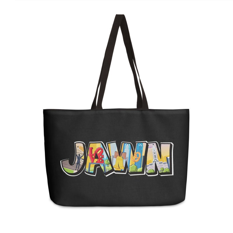 JAWN Accessories Weekender Bag Bag by TwistedPhillyPodcast's Shop