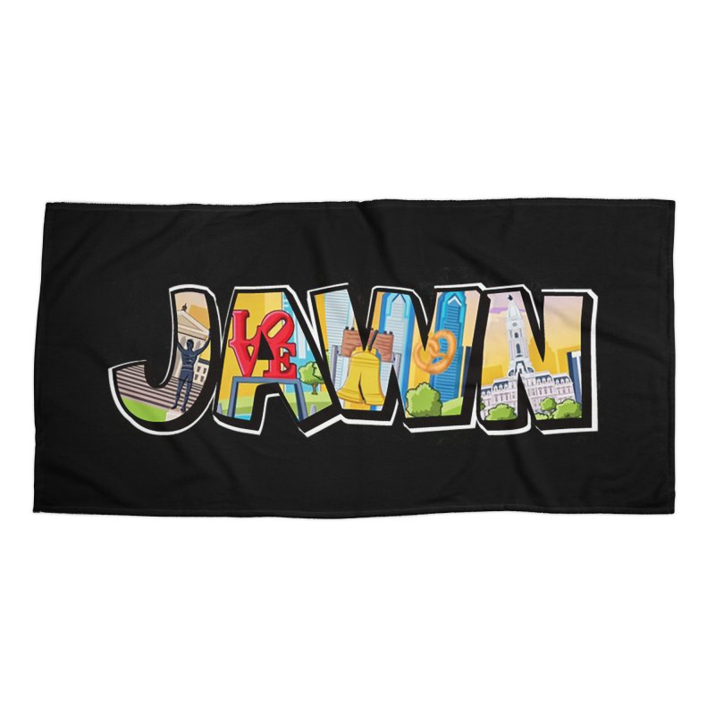 JAWN Accessories Beach Towel by TwistedPhillyPodcast's Shop