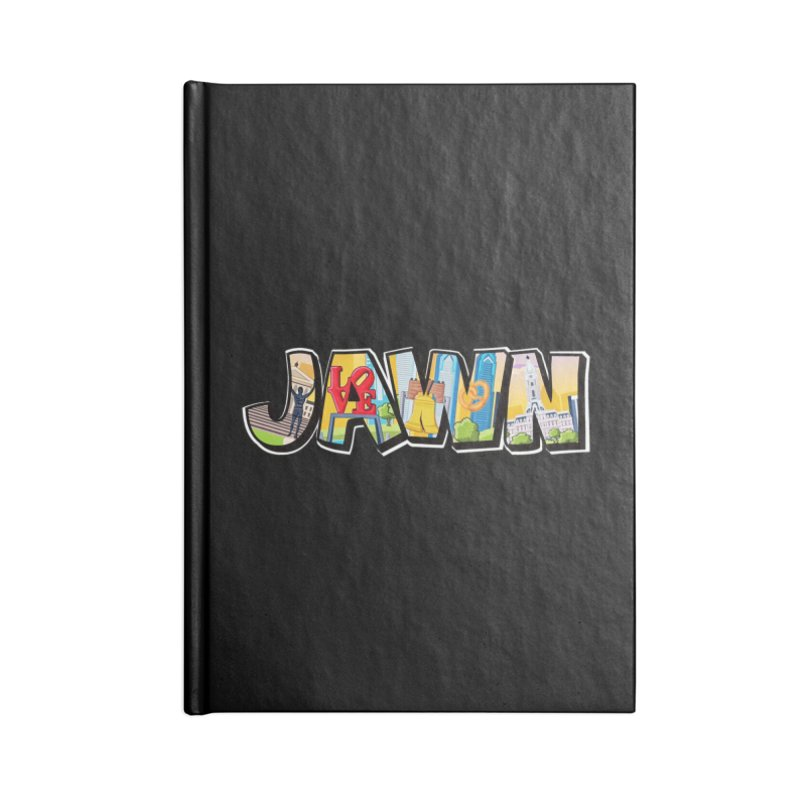JAWN Accessories Blank Journal Notebook by TwistedPhillyPodcast's Shop