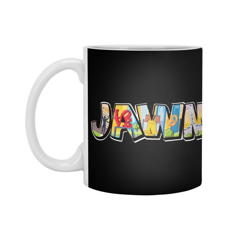 JAWN Accessories Standard Mug by TwistedPhillyPodcast's Shop