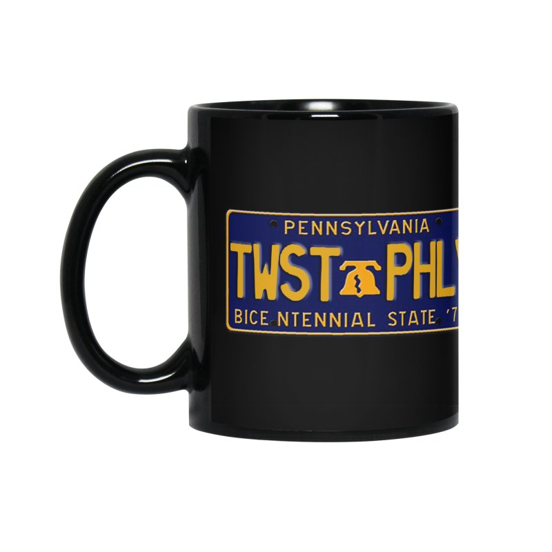 Twisted License Plate Accessories Mug by TwistedPhillyPodcast's Shop