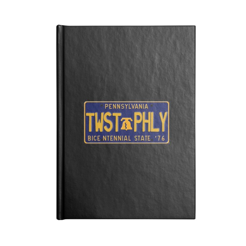 Twisted License Plate Accessories Notebook by TwistedPhillyPodcast's Shop