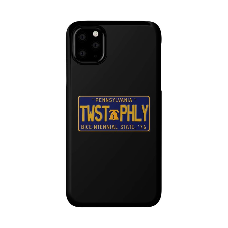 Twisted License Plate Accessories Phone Case by TwistedPhillyPodcast's Shop