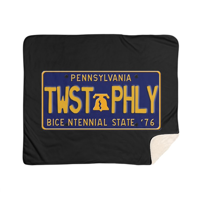 Twisted License Plate Home Blanket by TwistedPhillyPodcast's Shop