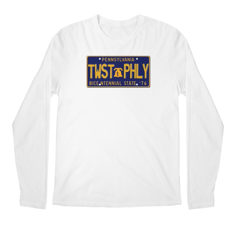 Twisted License Plate Men's Regular Longsleeve T-Shirt by TwistedPhillyPodcast's Shop
