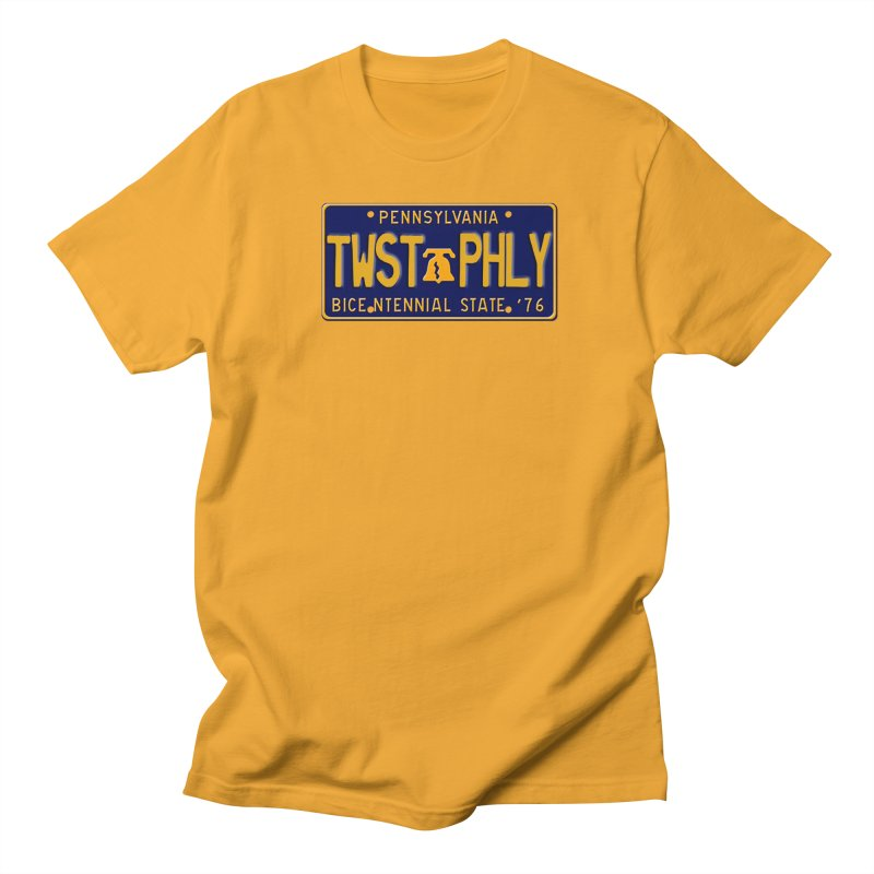 Twisted License Plate Women's Regular Unisex T-Shirt by TwistedPhillyPodcast's Shop