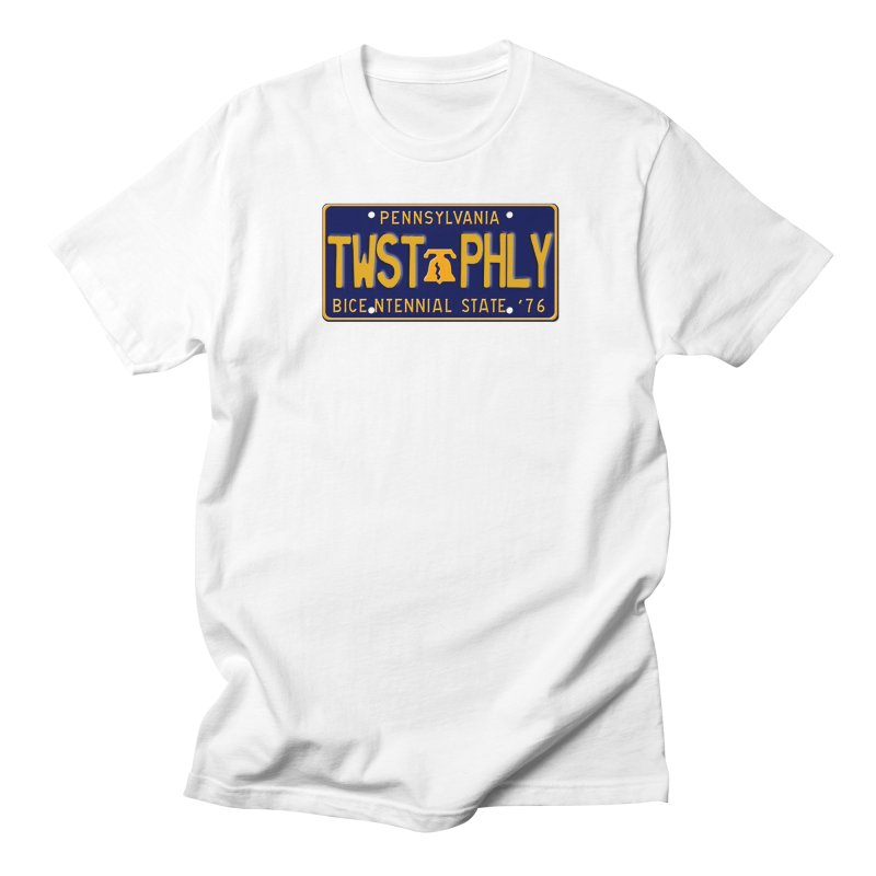 Twisted License Plate Men's Regular T-Shirt by TwistedPhillyPodcast's Shop