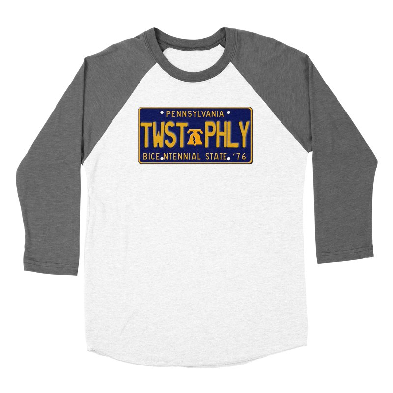 Twisted License Plate Women's Baseball Triblend Longsleeve T-Shirt by TwistedPhillyPodcast's Shop