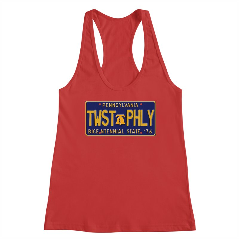 Twisted License Plate Women's Tank by TwistedPhillyPodcast's Shop