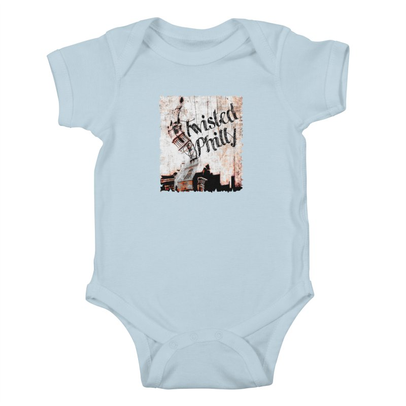 Twisted Philly Logo Kids Baby Bodysuit by TwistedPhillyPodcast's Shop