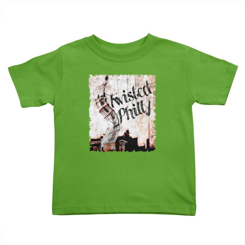 Twisted Philly Logo Kids Toddler T-Shirt by TwistedPhillyPodcast's Shop