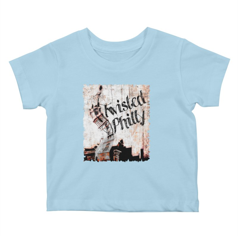 Twisted Philly Logo Kids Baby T-Shirt by TwistedPhillyPodcast's Shop