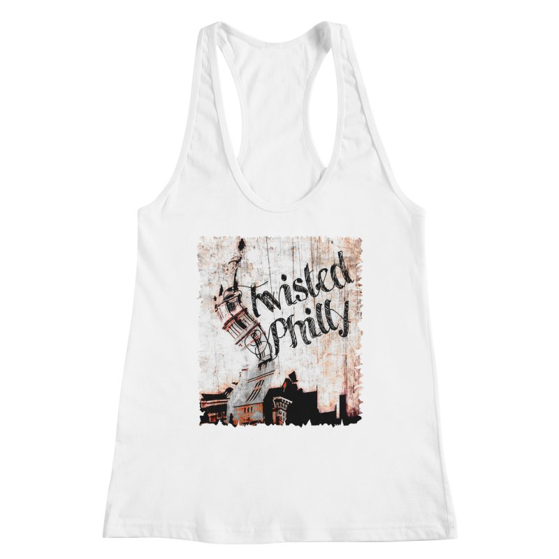 Twisted Philly Logo Women's Racerback Tank by TwistedPhillyPodcast's Shop