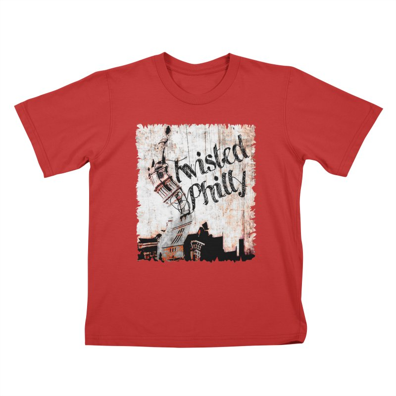 Twisted Philly Logo Kids T-Shirt by TwistedPhillyPodcast's Shop