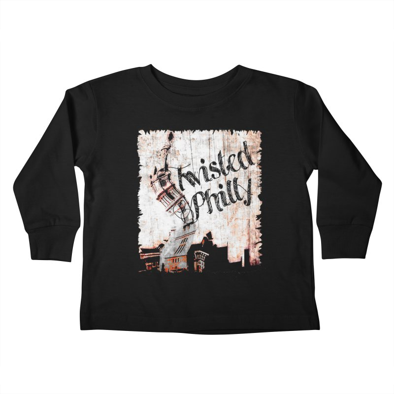 Twisted Philly Logo Kids Toddler Longsleeve T-Shirt by TwistedPhillyPodcast's Shop