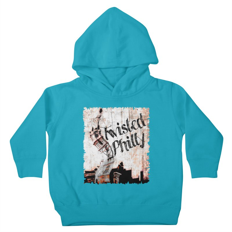Twisted Philly Logo Kids Toddler Pullover Hoody by TwistedPhillyPodcast's Shop