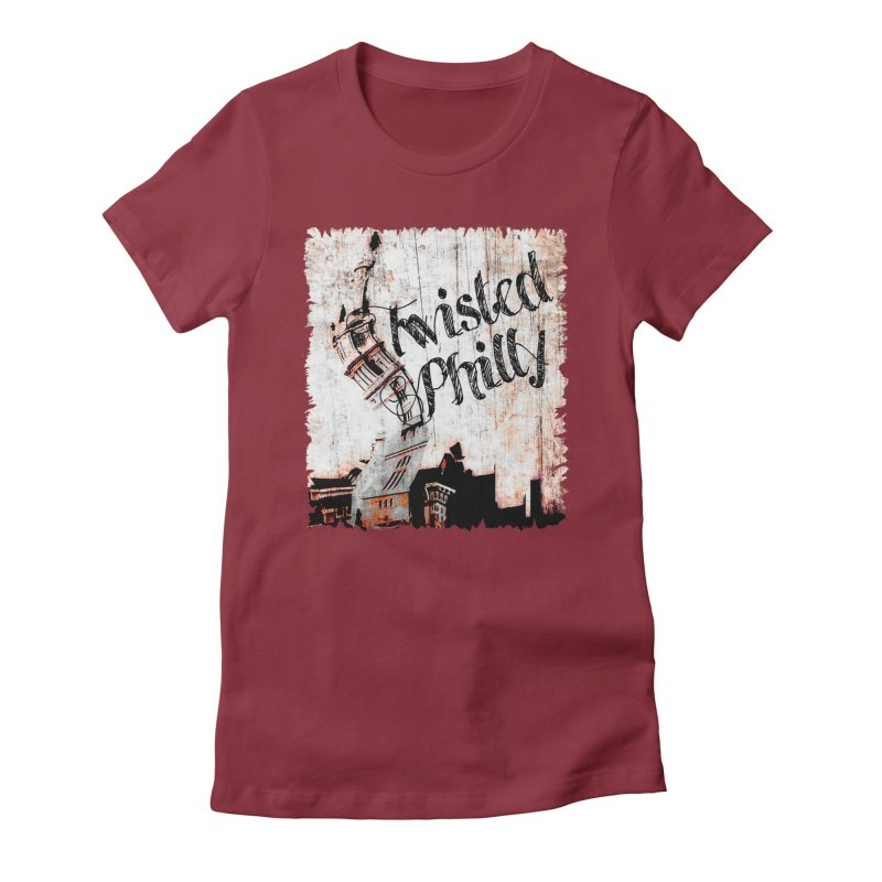 Twisted Philly Logo Women's Fitted T-Shirt by TwistedPhillyPodcast's Shop