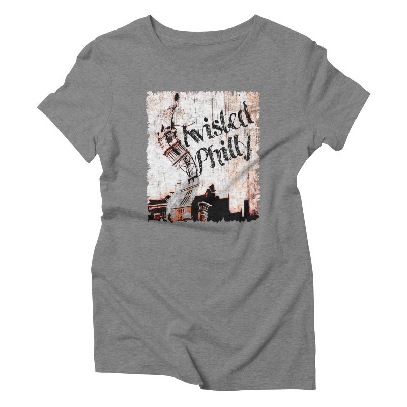 Twisted Philly Logo Women's Triblend T-Shirt by TwistedPhillyPodcast's Shop
