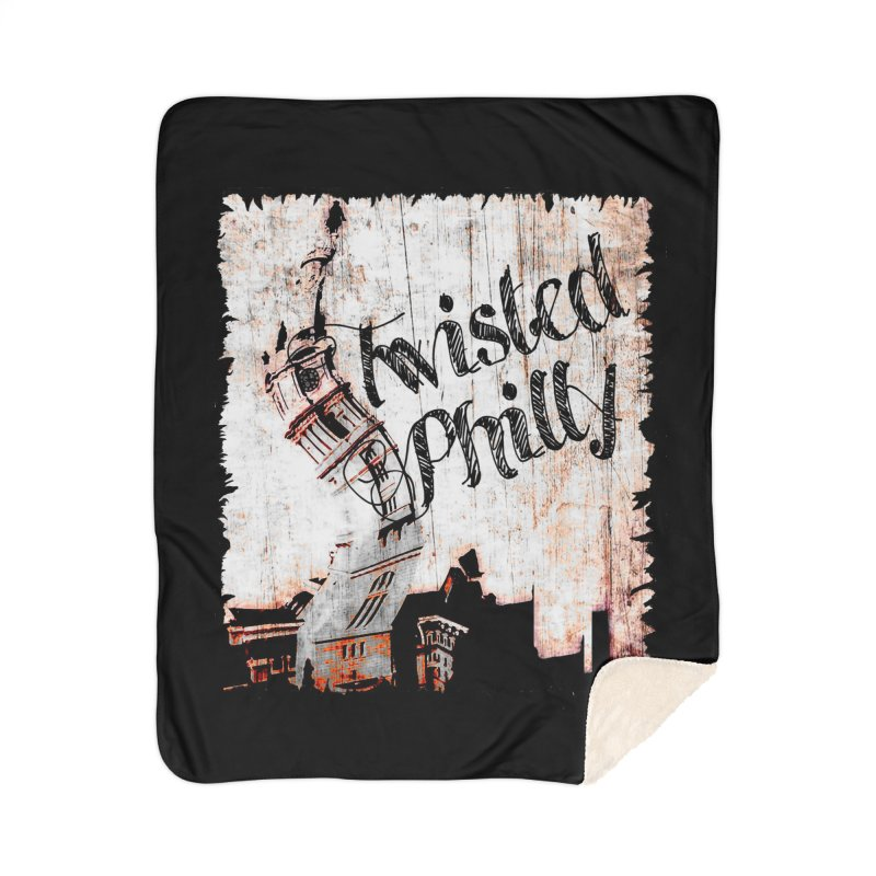 Twisted Philly Logo Home Sherpa Blanket Blanket by TwistedPhillyPodcast's Shop