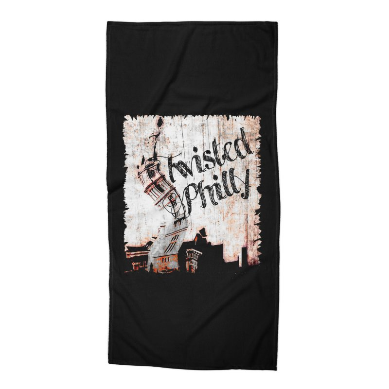 Twisted Philly Logo Accessories Beach Towel by TwistedPhillyPodcast's Shop
