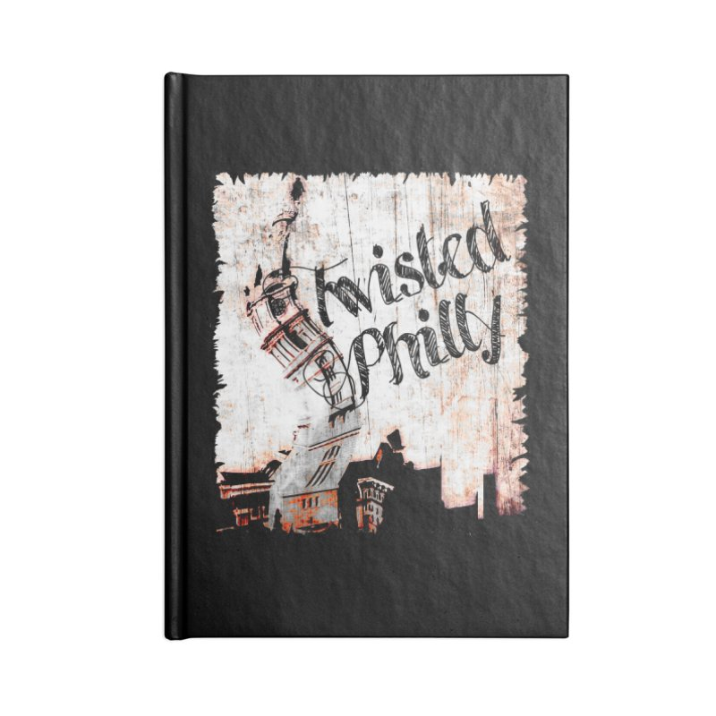 Twisted Philly Logo Accessories Lined Journal Notebook by TwistedPhillyPodcast's Shop