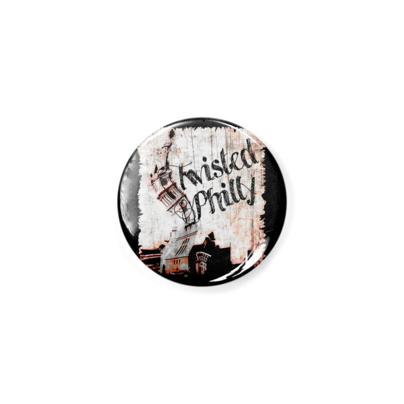 Twisted Philly Logo Accessories Button by TwistedPhillyPodcast's Shop
